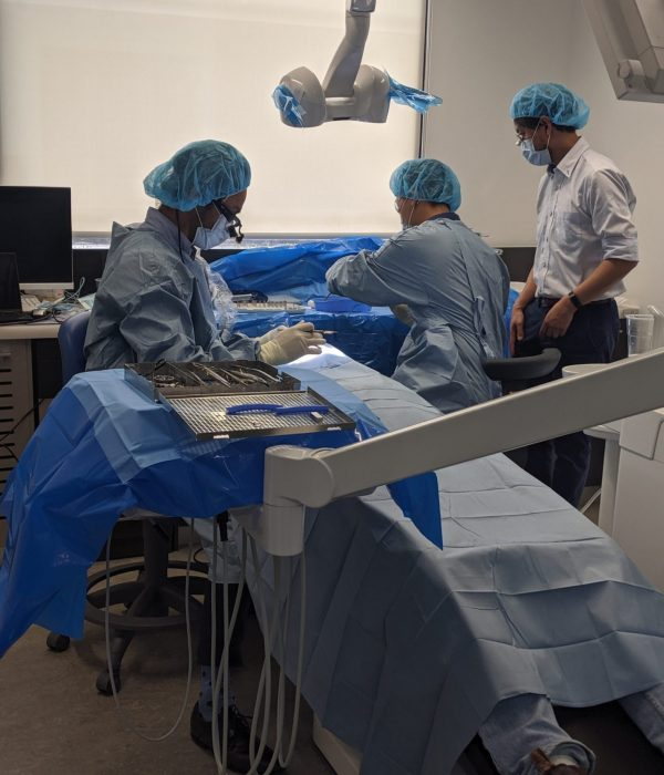 Live surgery Luan Ngo